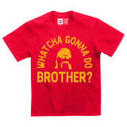 Hulk Hogan Whatcha Gonna Do Brother Youth Authentic T-Shirt
