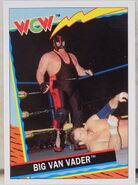 1992 WCW Trading Cards (Topps) Big Van Vader 43