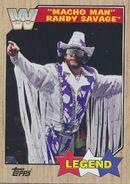 2017 WWE Heritage Wrestling Cards (Topps) Randy Savage 84