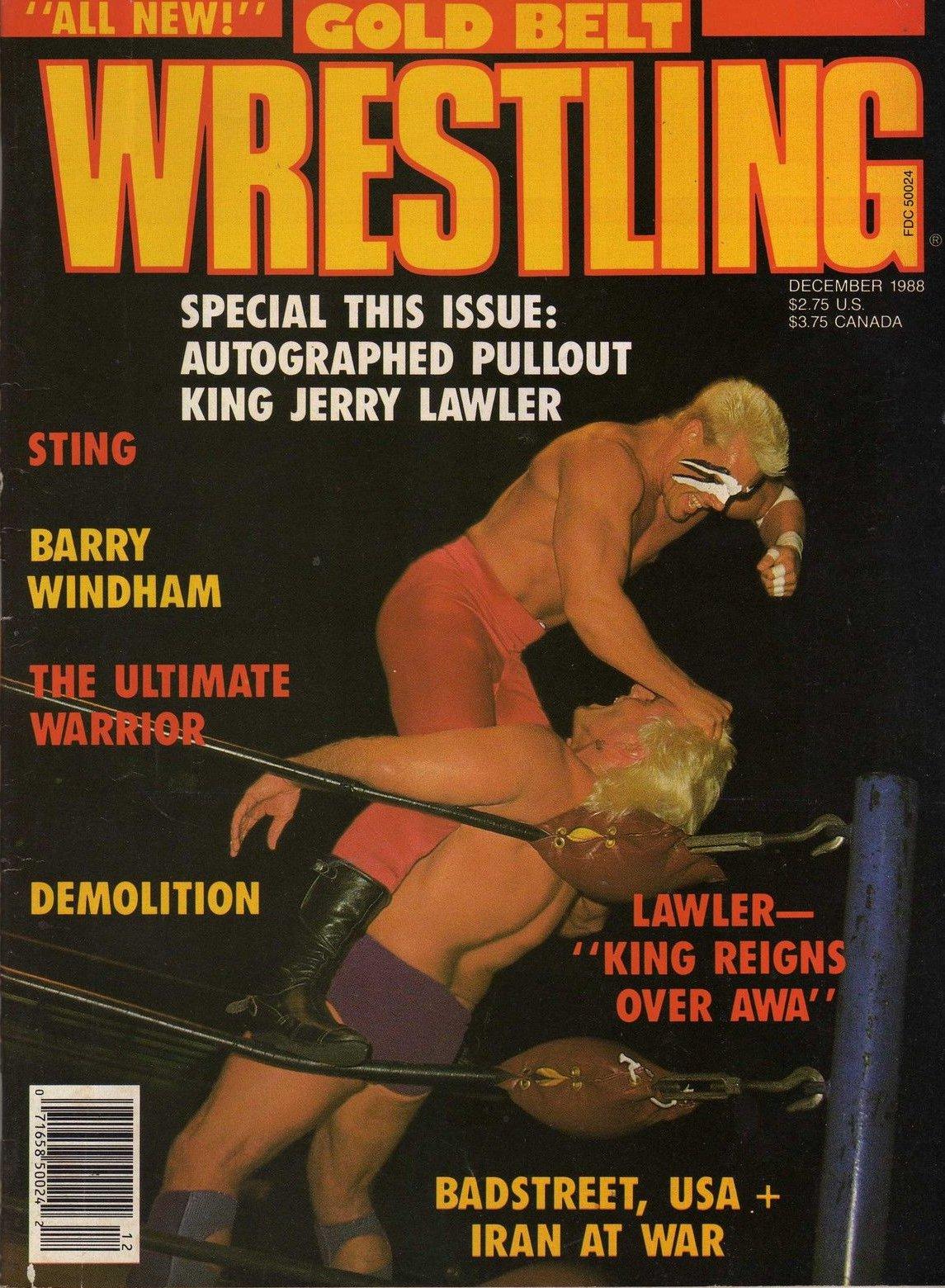 Gold Belt Wrestling - December 1988