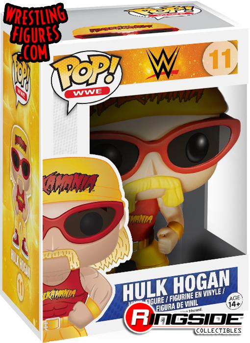 Hulk Hogan - Pop WWE Vinyl (Series 2)