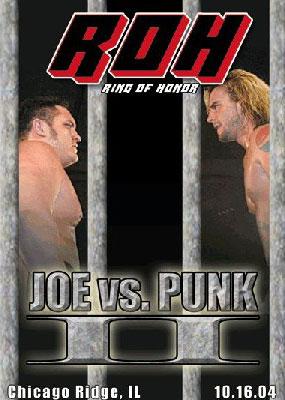 ROH Joe vs. Punk II