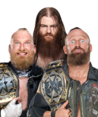 Sanity NXT Tag Team Champions with Dain