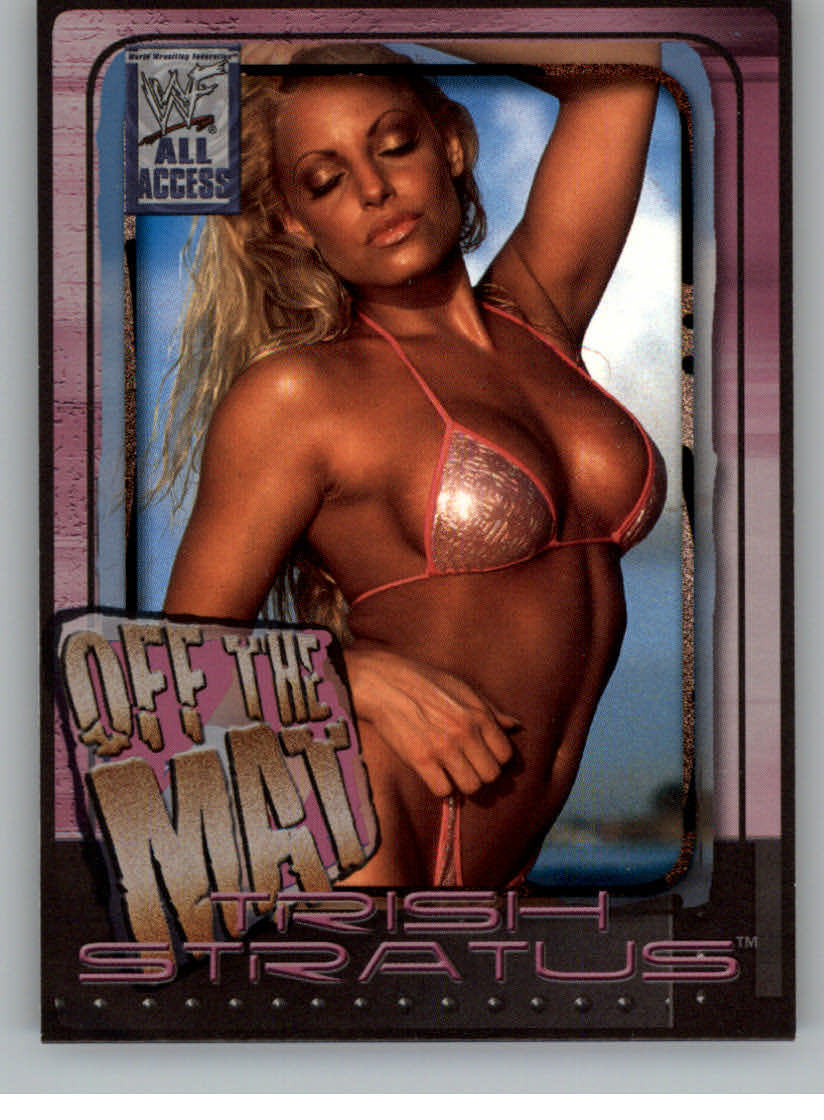 2002 WWF All Access (Fleer) Trish Stratus (No.59)
