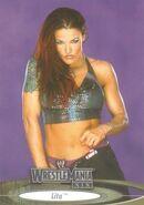 2003 WWE WrestleMania XIX (Fleer) Lita (No.74)