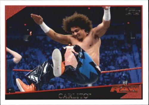 2009 WWE (Topps) Carlito (No.2)