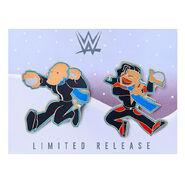 Cesaro & Nakamura Snowball Fight Limited Edition Pin Set