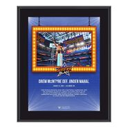 Drew McIntyre SummerSlam 2021 10x13 Commemorative Plaque