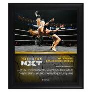 Matt Riddle NXT TakeOver XXV 15 x 17 Framed Plaque