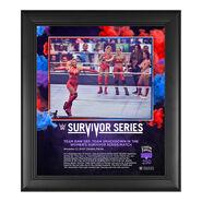 Women's Elimination Match Survivor Series 2020 15 x 17 Commemorative Plaque