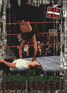 2001 WWF RAW Is War (Fleer) Lita vs. Stephanie McMahon 99