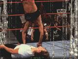 2001 WWF RAW Is War (Fleer) Lita vs. Stephanie McMahon-Helmsley (No.99)