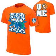 John Cena Never Give Up T-Shirt