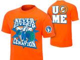 """John Cena """"Never Give Up"""" T-Shirt"""