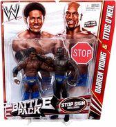 WWE Battle Packs 21 Darren Young & Titus O'Neil