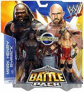 WWE Battle Packs 25 Ryback & Mark Henry