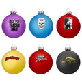 WWE Legends 2019 Glass Ball Ornament 6-Pack Set