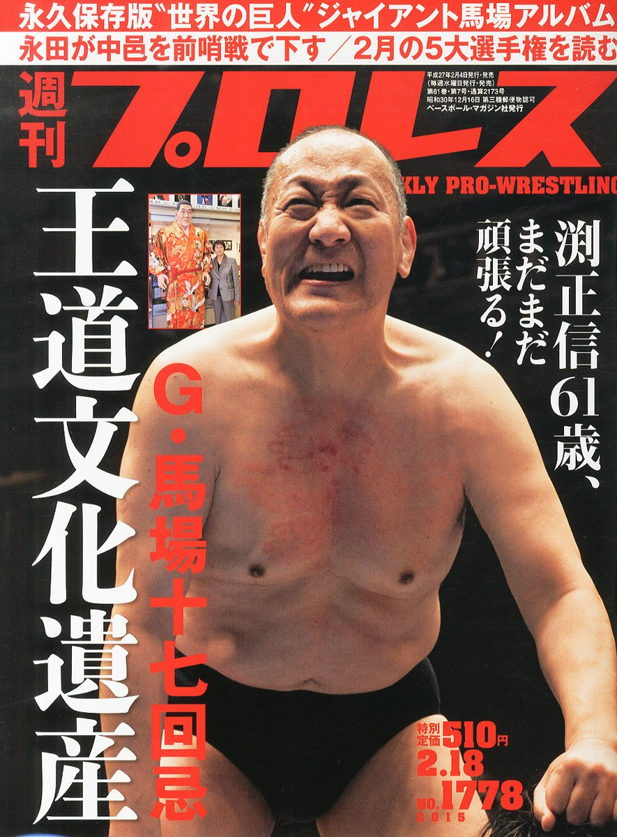 Weekly Pro Wrestling No. 1778