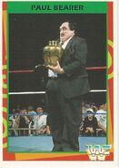 1995 WWF Wrestling Trading Cards (Merlin) Paul Bearer 151