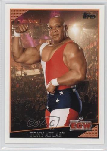 2009 WWE (Topps) Tony Atlas (No.58)
