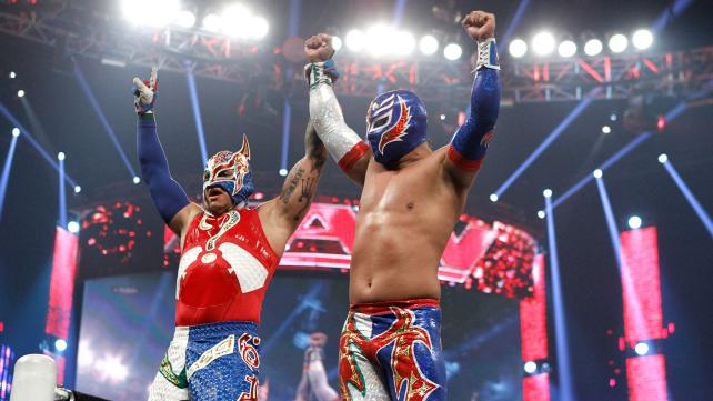 Rey Mysterio and Sin Cara