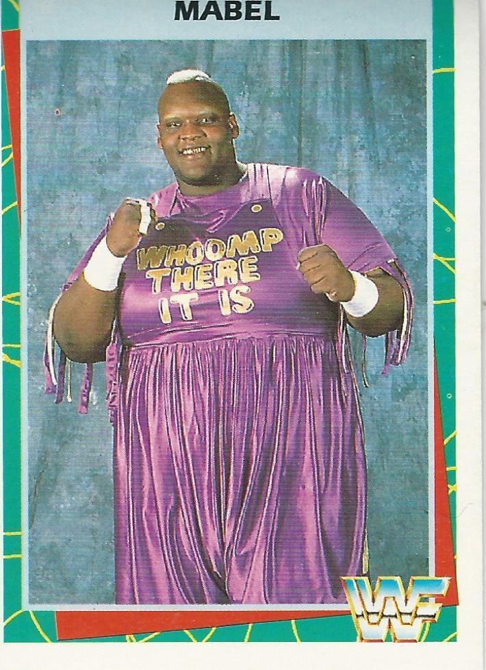 1995 WWF Wrestling Trading Cards (Merlin) Mabel (No.26) | Pro Wrestling | Fandom
