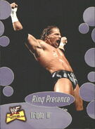 2001 WWF The Ultimate Diva Collection (Fleer) Triple H 58