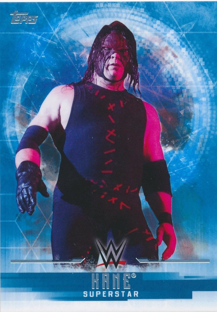 2017 WWE Undisputed Wrestling Cards (Topps) Kane (No.18)