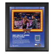 Bobby Lashley SummerSlam 2021 15x17 Commemorative Plaque