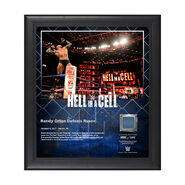 Randy Orton Hell In A Cell 2017 15 x 17 Framed Plaque w Ring Canvas