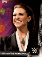 2018 WWE Women's Division (Topps) Stephanie McMahon 30