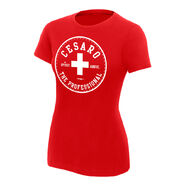Cesaro The Professional Women's Authentic T-Shirt