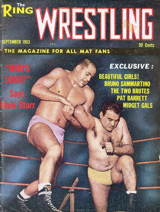 The Ring Wrestling - September 1963