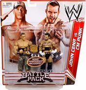 WWE Battle Packs 17 John Cena & CM Punk