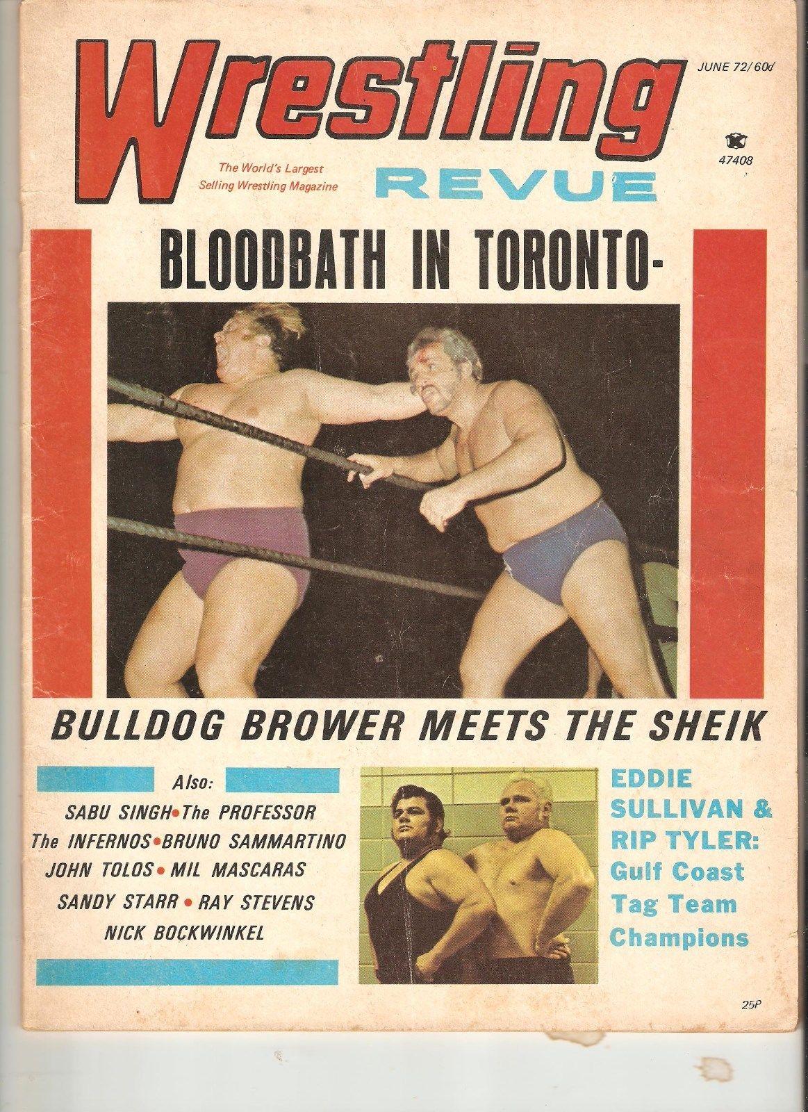 Wrestling Revue - June 1972