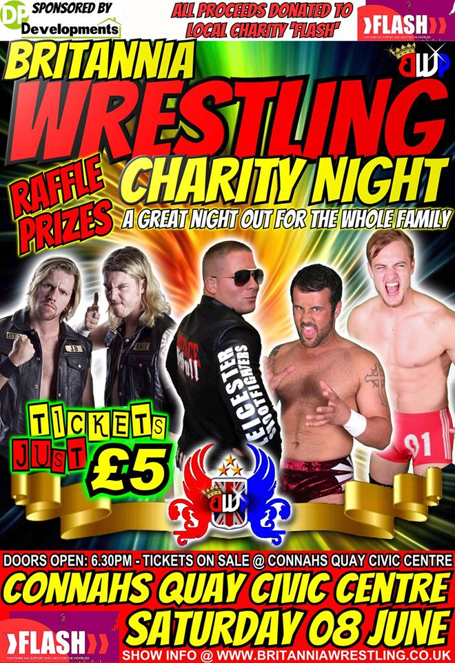 BWP Wrestling Charity Night