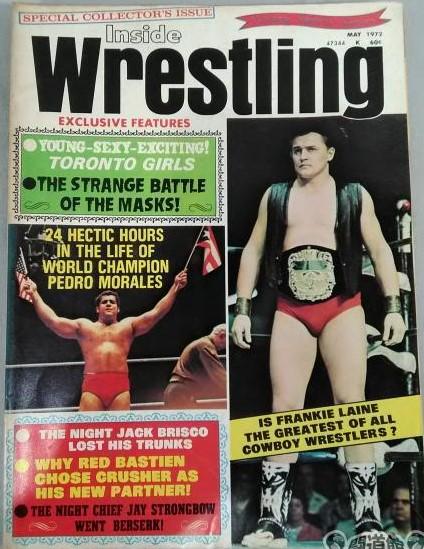 Inside Wrestling - May 1972