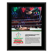Jeff Hardy Greatest Royal Rumble 2018 10 x 13 Photo Plaque