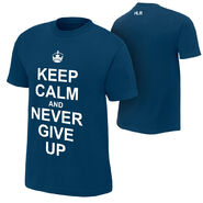 John Cena Keep Calm and Never Give Up T-Shirt