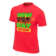 New Day New Day Rocks Red Special Edition T-Shirt