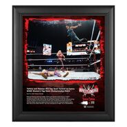Tamina & Natalya WrestleMania 37 15x17 Commemorative Plaque