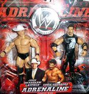 WWE Adrenaline Series 9 John Bradshaw Layfield & Eddie Guerrero