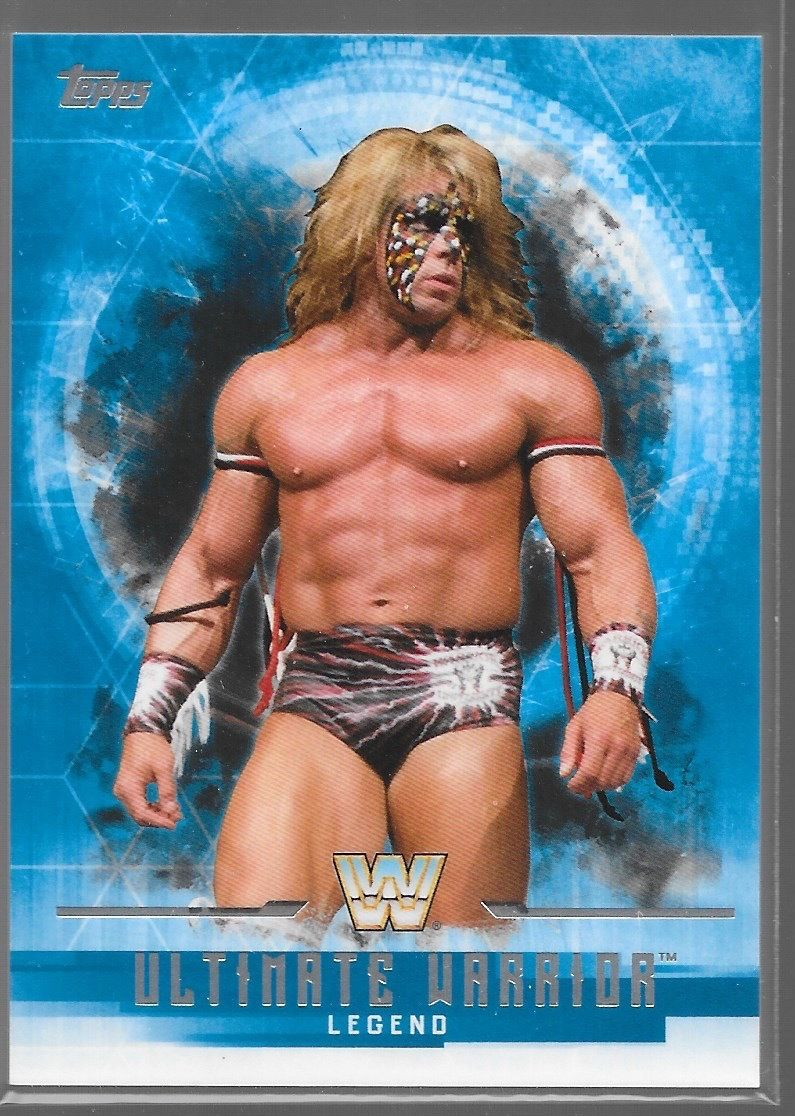 2017 WWE Undisputed Wrestling Cards (Topps) Ultimate Warrior (No.70)