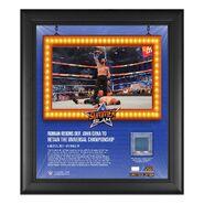 Roman Reigns SummerSlam 2021 15x17 Commemorative Plaque