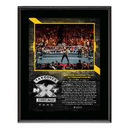 Undisputed Era NXT TakeOver Chicago 10 x 13 Plaque