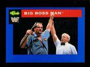 1991 WWF Classic Superstars Cards Big Boss Man 115