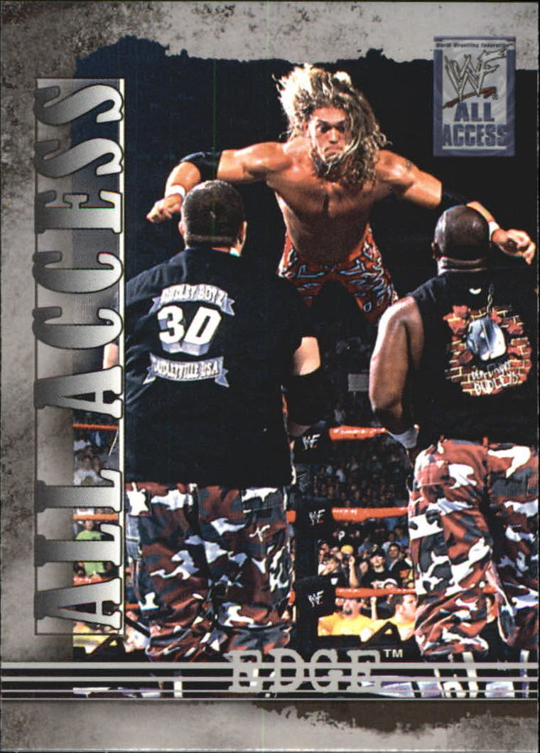 2002 WWF All Access (Fleer) Edge (No.34)