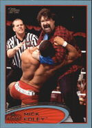 2012 WWE (Topps) Mick Foley 7
