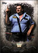 2016 Topps WWE Undisputed Wrestling Cards Big Boss Man 45