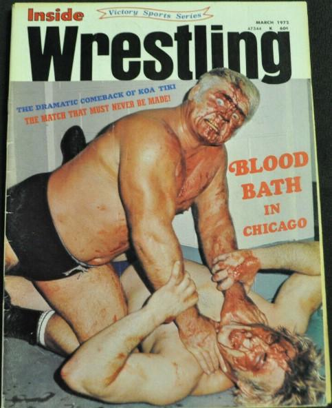 Inside Wrestling - March 1972